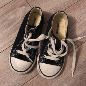 Kids' converse size 10 black